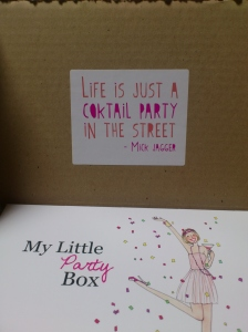 My Little Party Box Juin 2013My Little Party Box