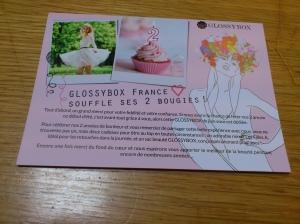 Glossy Box Juin 2013
