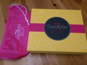 My Sweetie Box Cosmetical Cocktail Août