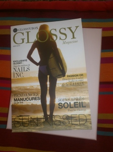 Glossy Box août 2013