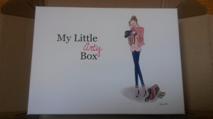 My Little Arty Box Octobre 2013