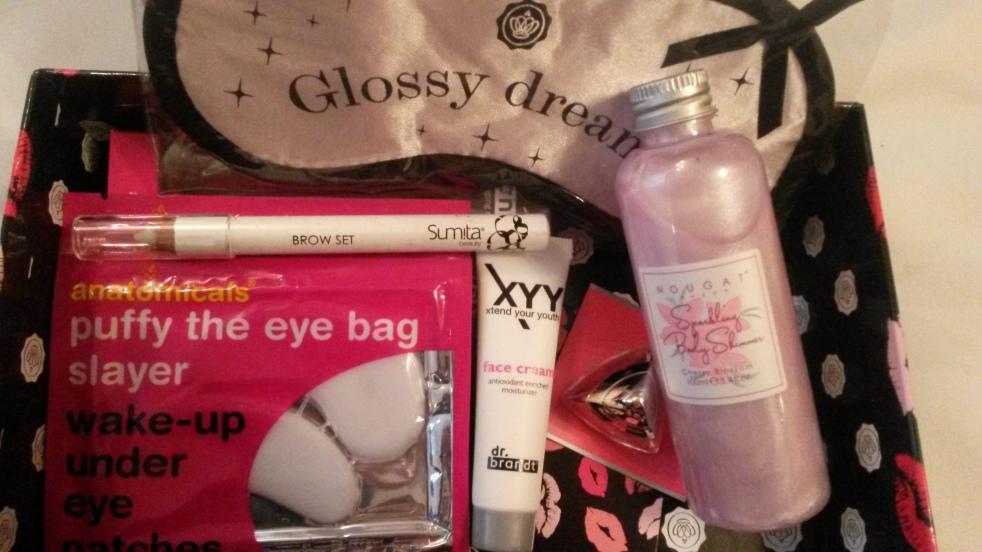 Glossy Box écrin d'amour 2014
