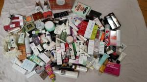 le plein de cosmétiques
