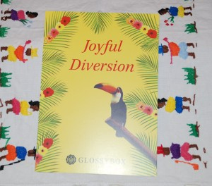 Glossy Box Joyful Diversion juin 2014