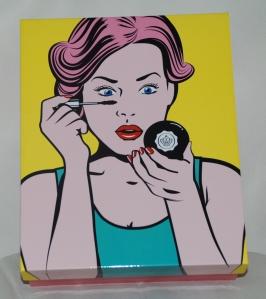 glossy box pop art