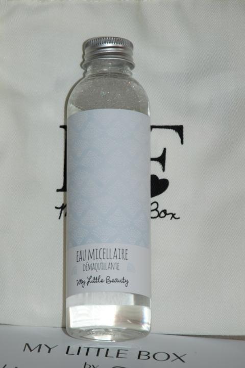 eau micellaire my little beauty