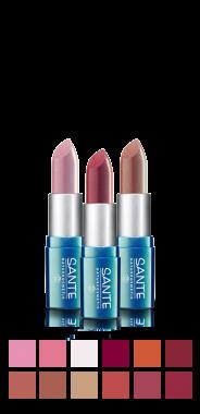 rouge à lèvres Sante Naturkosmetik