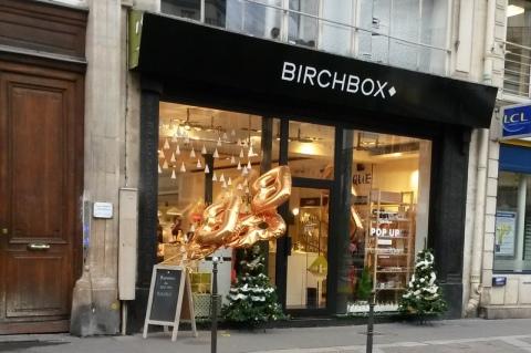Pop Up Store Birchbox