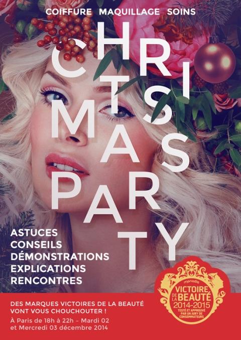 Christmas Party les ateliers des victoires de la beauté