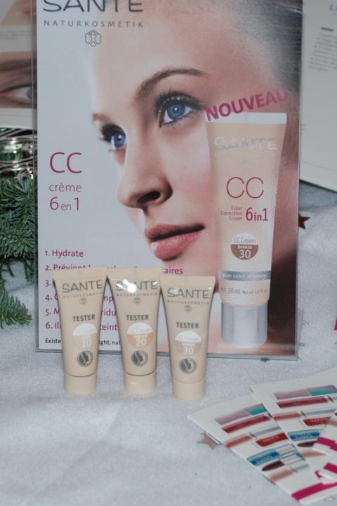 Sante Naturkosmetik - Christmas Party les ateliers des victoires de la beauté