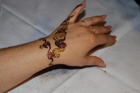 tatouage éphémère - Christmas Party les ateliers des victoires de la beauté