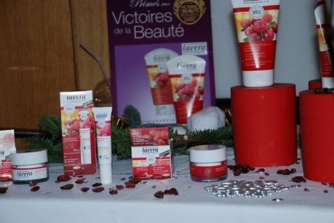 Lavera - Christmas Party les ateliers des victoires de la beauté
