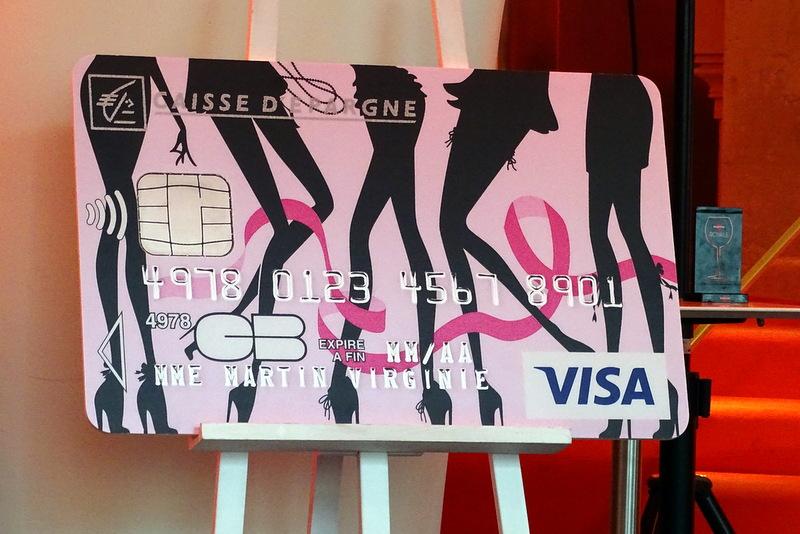 Carte Bleue Journee De La Femme Caisse Depargne.Le Jour Ou J Ai Rencontre Mon Idole Cartolina En Mode