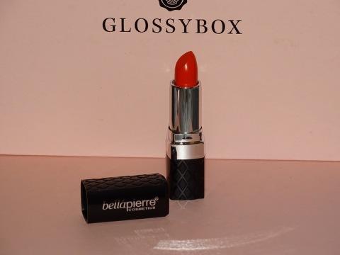 Glossy Box janvier 2015 - Rouge à lèvres BellàPierre