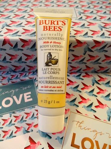 birchbox février 2015 (burts bees)
