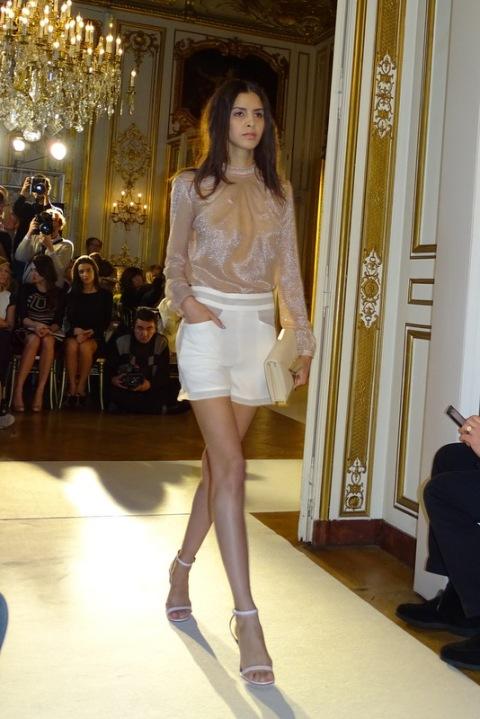 Fashion Week défilé Alexandre Delima