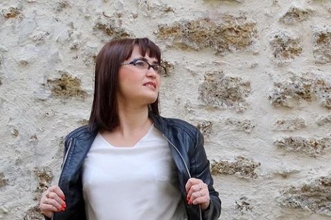 La robe imprimée Esprit bucolique chic Blanche Porte DSC01344