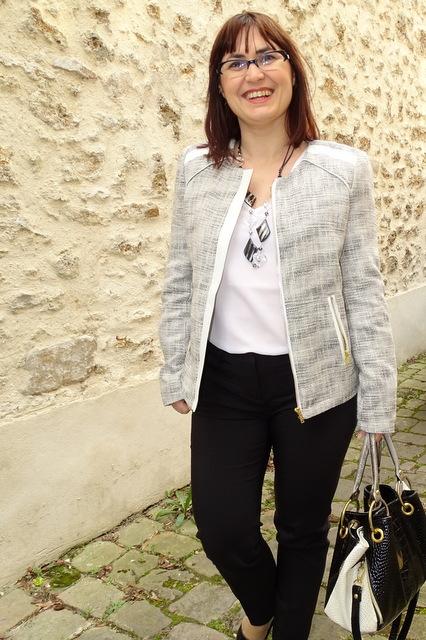 Veste Jacquard et pantalon La City