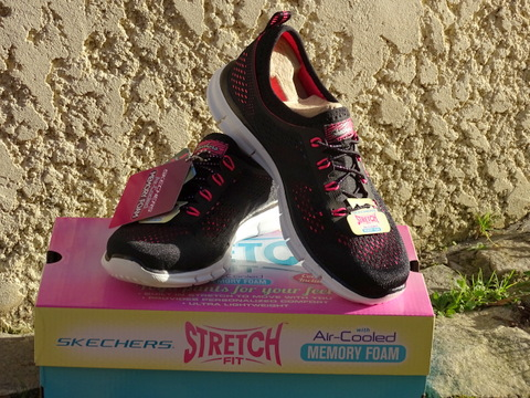 Test des baskets Skechers