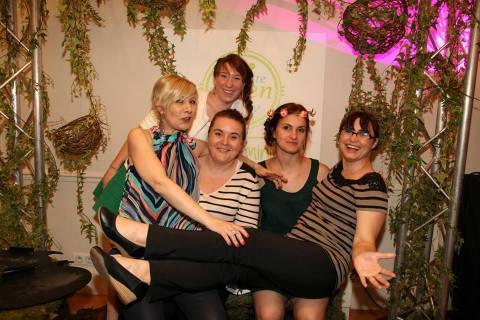 Poulette Green Party-photo de groupe
