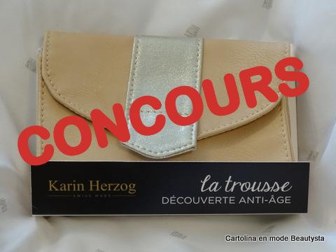concours trousse découverte anti-âge Karin Herzog