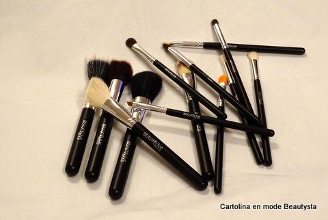 kit pinceaux maquillage Cléopâtre 13 pinceaux (2)