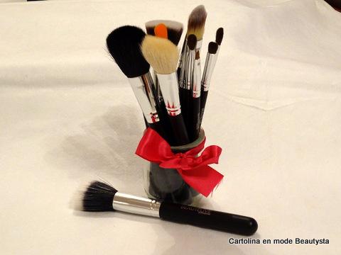 kit pinceaux maquillage Cléopâtre 13 pinceaux (3)