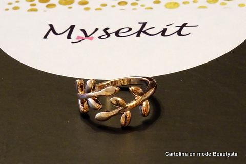 """Mysekit personnalisé - décembre 2015 - bague """"la fée qui frippe"""""""