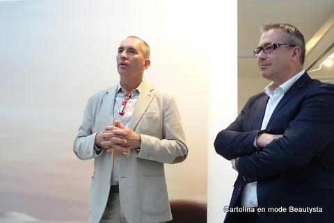Eric Renard et Xavier Padonani, fondateurs du Petit Olivier
