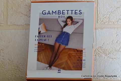 Gambettes Box Mai 2016