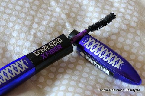 Mascara Faux Cils Superstar X-Fiber L'Oréal