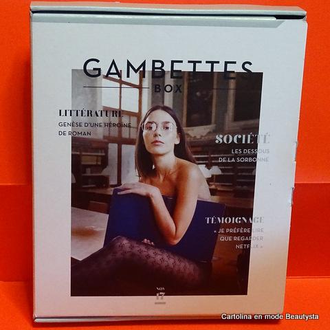 Gambettes Box Novembre 2017 - Madame Bovary
